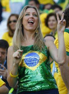 ブラジル美女サポーター2