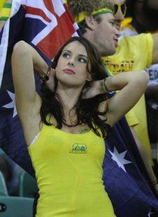 オーストラリア美女サポーター