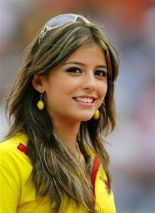 スペイン美女サポーター